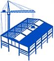 Логотип компании Ангар+